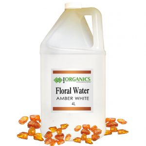 Amber White Floral Water Organic