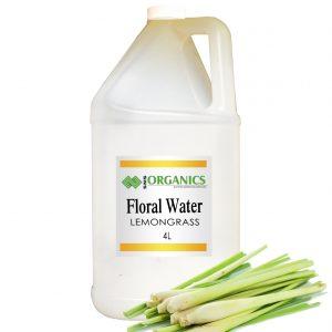 Lemongrass Floral Water Organic